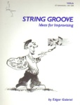 String Groove, Ideas for Improvising, Book and CD - Viola