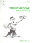 String Groove, Ideas for Improvising, Book and CD - Cello