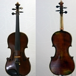 German Violin labeled Albert Heinel Berlin 1887