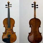 German Violin Labeled George Rums CA 1960