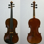German Violin labeled  Anton Deurer Mittenwald 1902
