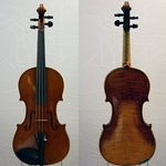 Violin Labeled Robert Glier Cincinatti 1914