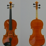 Violin by Fumi Ishida, Chicago School of Violin Making 2006