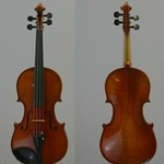 Violin Labeled, Valentin Schuster, Bubenreuth