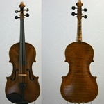 "15-3/8"" Irish Viola, Thomas Perry, Dublin 1785"