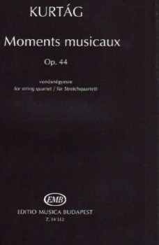 6 Moments musicaux, Op.44 for String Quartet