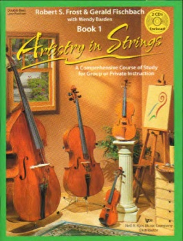 ARTISTRY IN STRINGS - STRING BASS BOOK 1LOW POSITION - BOOK AND CDs