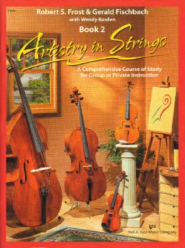Artistry In Strings - Violin Book 2 - Book Only