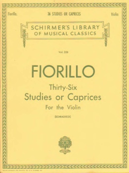 Fiorillo - Thirty six Studies or Caprices for the Violin