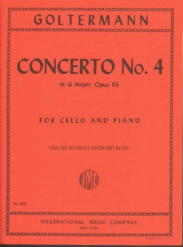Goltermann - Concerto No.4 in G major, Op 65 for Cello and Piano