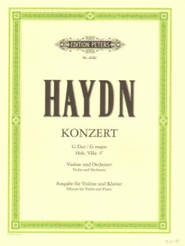 Haydn - Konzert G Major, Violin and Orchestra