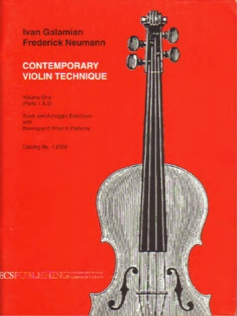 Contemporary Violin Technique, Volume One