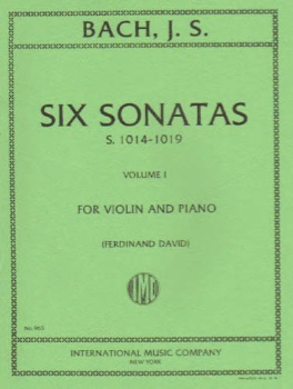 Bach - Six Sonatas, S.1014-1019, for Violin and Piano