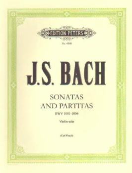 Bach - Sonatas and Partitas BWV 1001-1006, Violin Solo