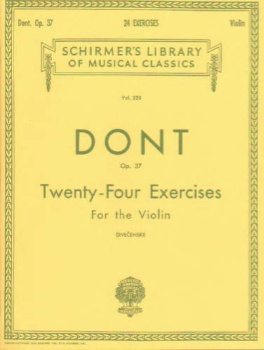 Dont - Tweny-four Exercises for the Violin