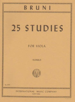 Bruni, A - 25 Studies for Viola