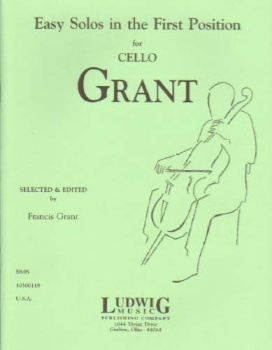 Easy Solos In The First Position For The Cello