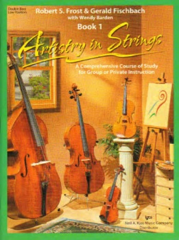 Artistry in Strings - Bass Book 1 - Low Position - Book Only
