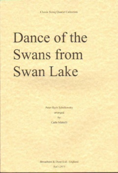 Dance of the Swans from Swan Lake, score