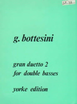 Gran Duetto 2 for Double Basses