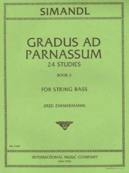 Gradus Ad Parnassum, 24 Studies, Book 2, for String Bass