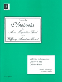 From The Notebooks for Anna Magdalena Bach and Wolfgang Amadeus Mozart