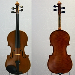 German Violin labeled E. Reinhold Schmidt Saxony