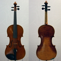 Violin Labeled Robert Glier Cincinatti 1904