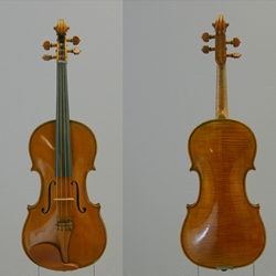 "15-1/2"" Viola, Labeled Romeo Antoniazzi, Cremona 1920"