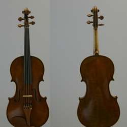 "16"" Viola, labeled Carrera e Fino"